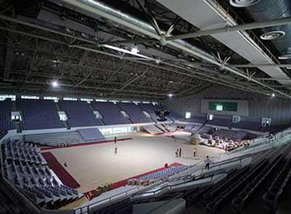 六盘水市体育中心篮球馆