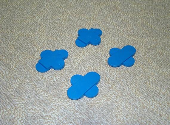 蝶型运动木地板专用减震垫