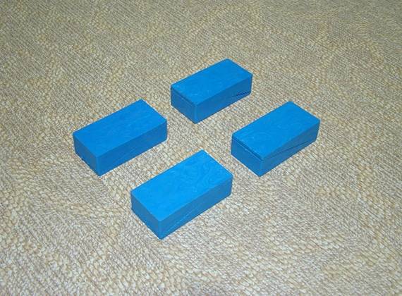 梯型运动木地板专用减震垫