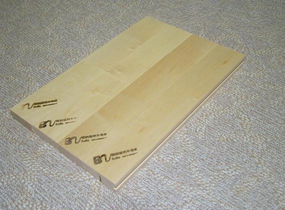 A级俄罗斯枫木运动木地板面板