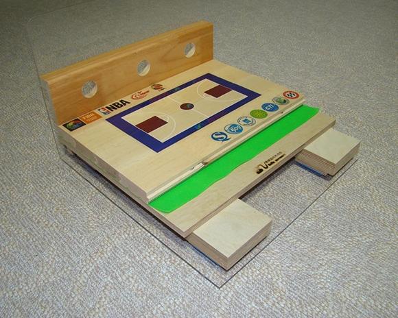 单层板式运动木地板