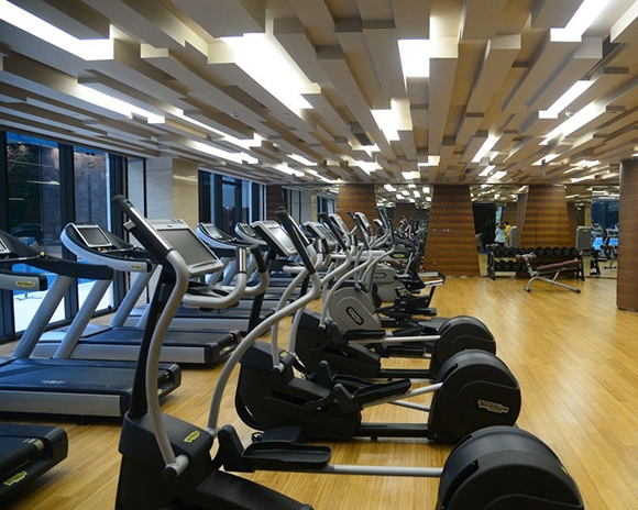 健身房运动木地板