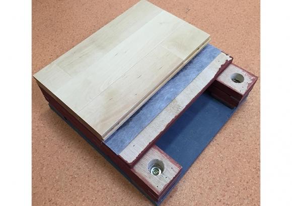 体育运动木地板规格