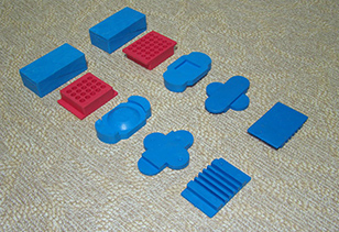 运动木地板专用减震垫
